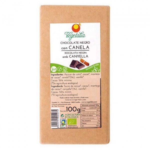 213 Xocolata negra amb canyella 100g