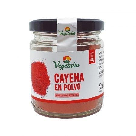 Pimienta de cayena en polvo 80 g