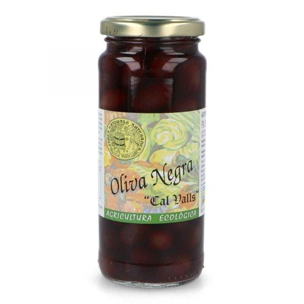 498 499 Oliva Negra pot 200 gr CALVALLS