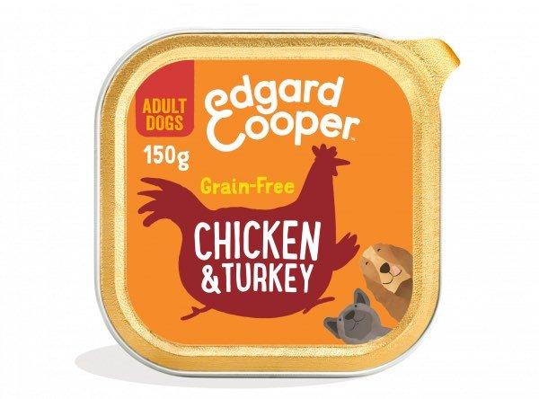 896 EdgardCooper AdultChickenTurkeyWet 150g