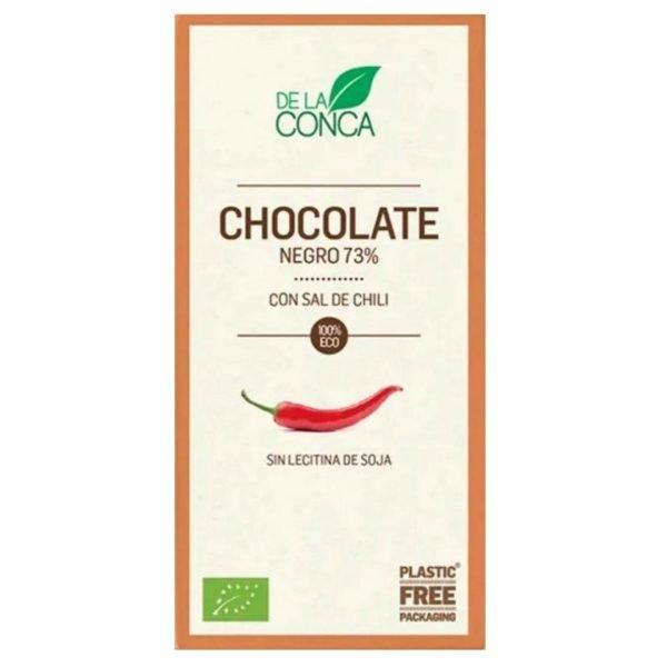 Xocolata 73 amb sal de Chili De la Conca 100 gr.