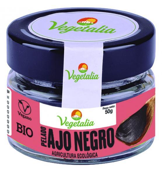 ajo negro pelado bio 50 g vegetalia 1