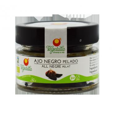 ajo negro pelado fermentado ecologico 50 gr