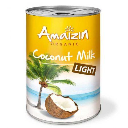 amaizin organic leche de coco light 1 20840