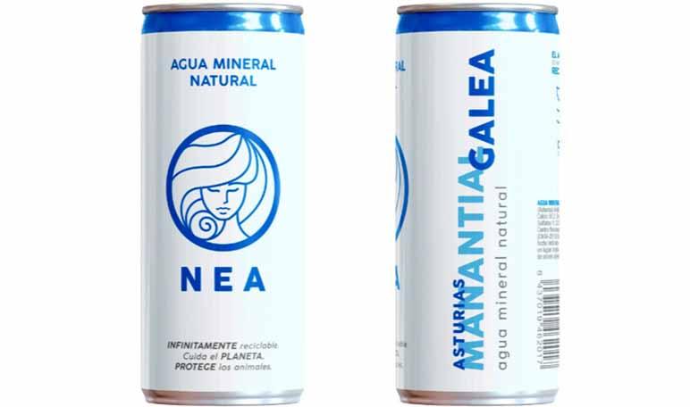 nea agua mineral reciclable diario emprendedores