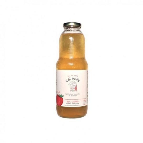 zumo de manzana bio 1l