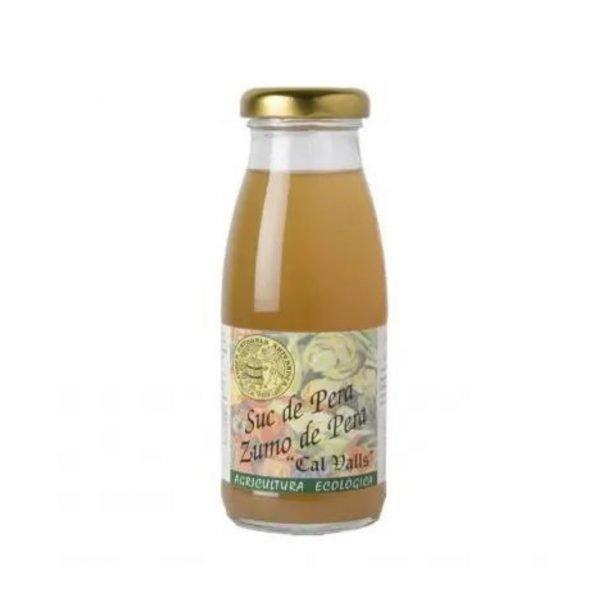 zumo de pera ecologico 200ml cal valls 1