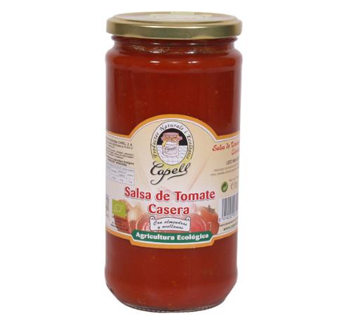 635 SALSA TOMATE CASERO BIO 700 g