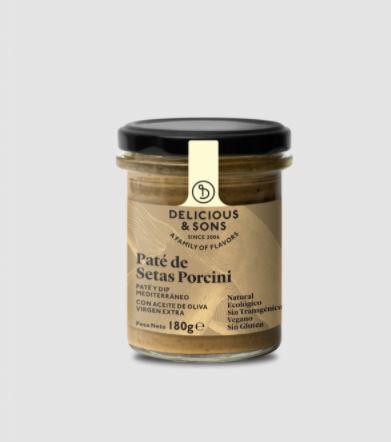 676 PateBoletPorcini180g