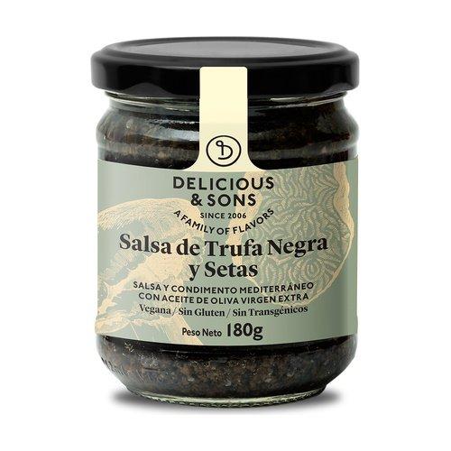 Salsa de Trufa Negra con Champiñones 180 g