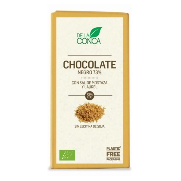 Xocolata Negra 73 Sal de Mostassa De la Conca 100 gr