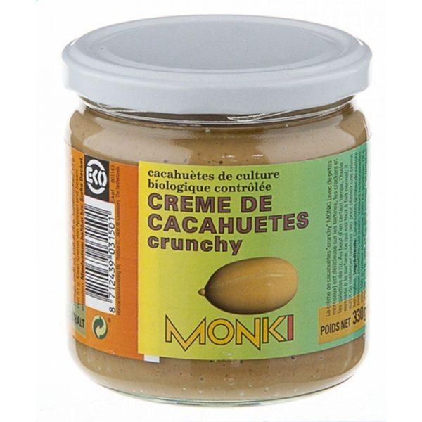 Crema de Cacahuetes Crunchy