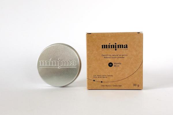 dentifrico natural minima organics