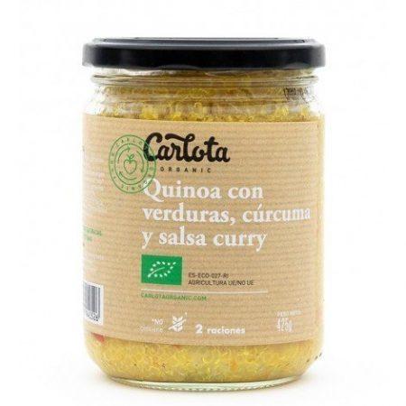 Quinoa Amb Verdures Curcuma I Curry 425g Eco