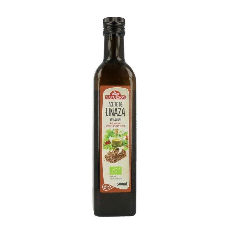 aceite de linaza ECO natursoy 500ml