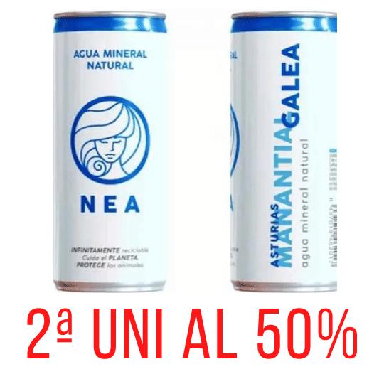 Agua Mineral Natural Nea 33cl 2al50