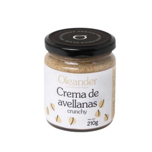 Crema Avellana Crunchy 210gr Oleander