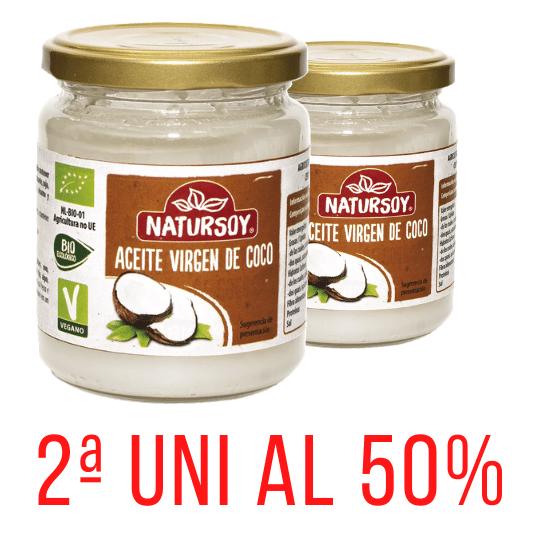 Oli de coco verge 200gr 2a Un 50