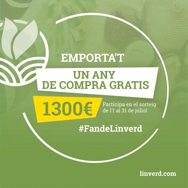 Any compra gratis Linverd