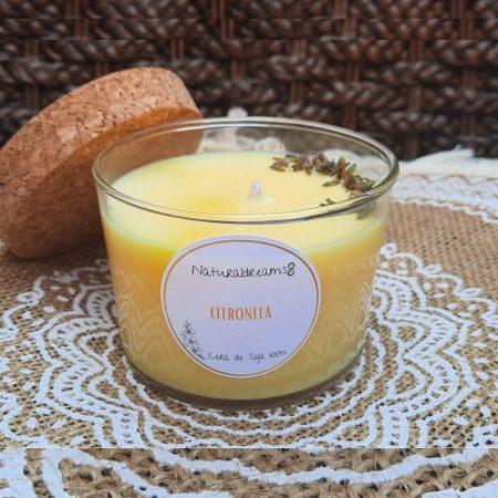 Espelma Cera de Soja Citronela ECO