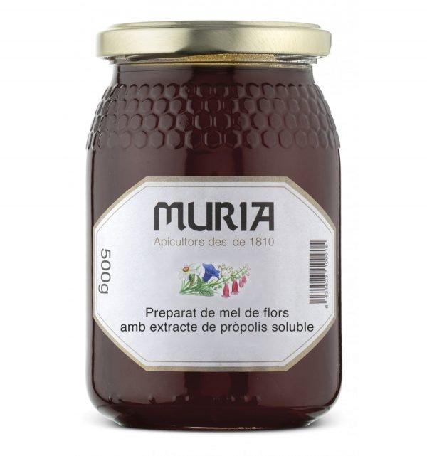Preparat de Mel Flors amb Propolis 500gr Muria ECO
