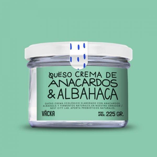 vacka queso crema anacardosalbahaca