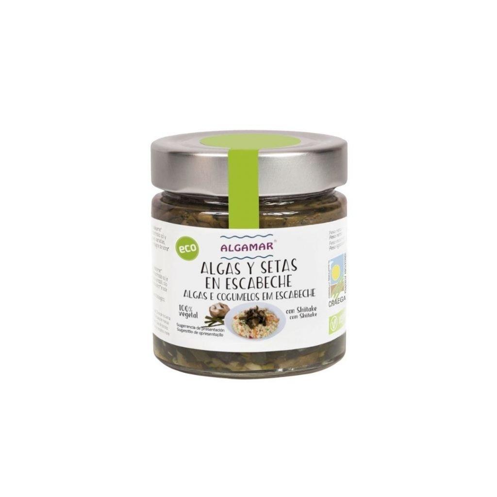 Algues i Bolets amb Escabetx 160gr Algamar ECO