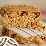 Barrita de Quinoa Real y frutos secos