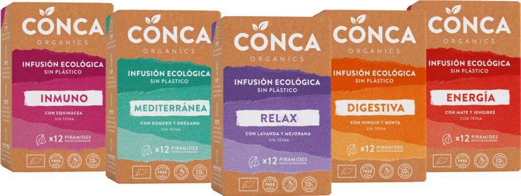 Pack infus ConcaOrganics