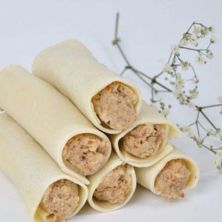 Canelones de rustido sin gluten y sin lactosa